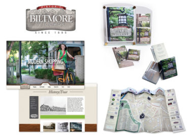 New Branding Campaign for Asheville's Historic Biltmore Village