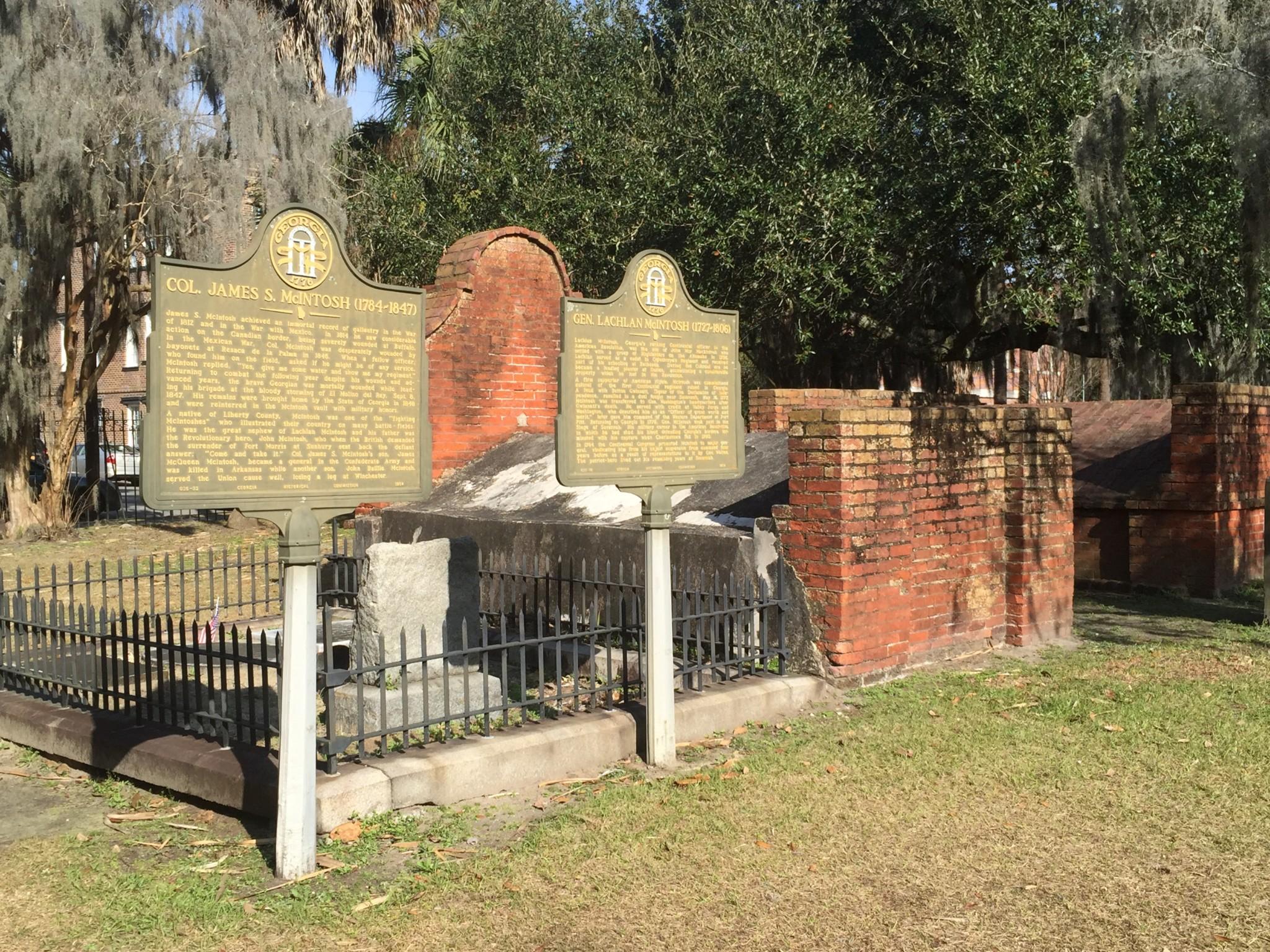 Colonial Cemetery Savannah